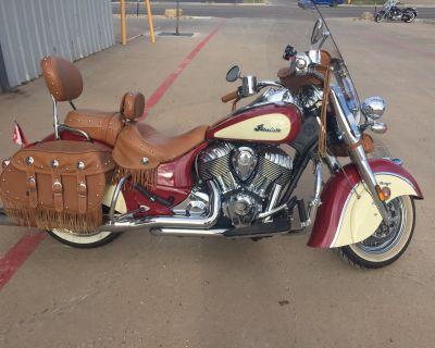 2017 Indian Chief Vintage Cruiser Amarillo, TX