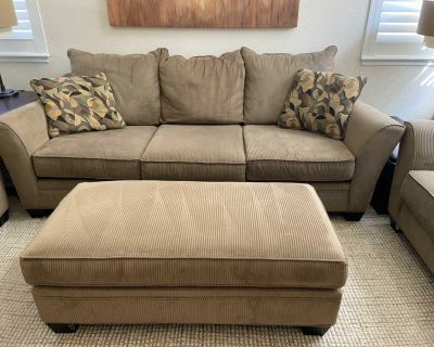 Oversized Couch, Loveseat, Chair and Ottoman