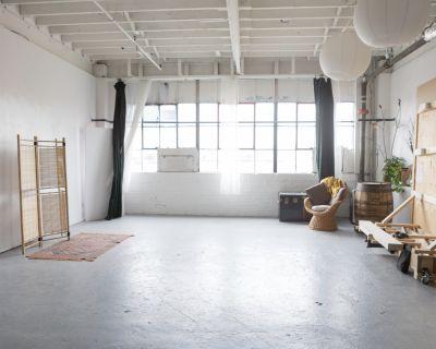 Natural Light West End Studio for Events, Toronto