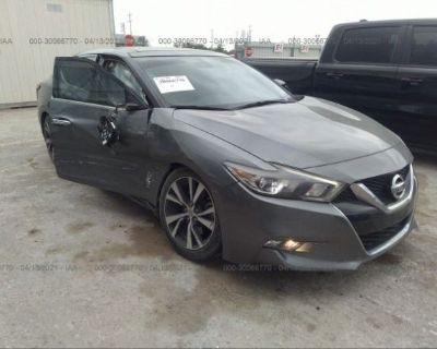 Salvage Gray 2017 Nissan Maxima