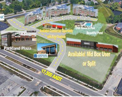 Parkland Plaza Lot 2 - 2.89 Acres Options to Split