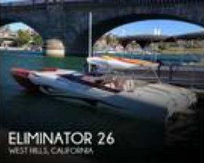 26 foot Eliminator 26 Daytona ICC