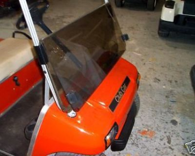 Golf Cart Flip Windshield Tinted For Club Car Ds 82-99