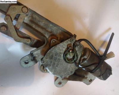 Rear wiper motor assembly