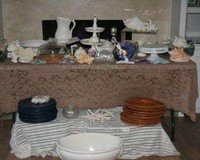 Seaside Decor, Great Hostess Items, Garden Treasures, Seaside Casual Outdor furniture, Huge Disney P