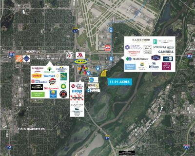 Land for Sale Adjacent to Mall of America