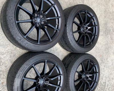 Price Drop - GT350 Wheels and Michelin Pilot Super Sports