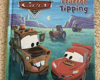 Leap Frog Tag Book Cars Tractor Tipping