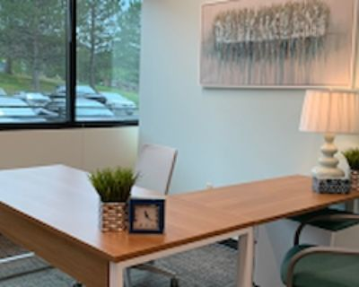 Private Office for 3 at Office Evolution Colorado Springs