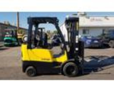2011 LP Gas Hyster S50FT Cushion Tire 4 Wheel Sit Down Indoor Warehouse