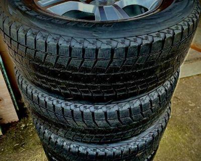 Custom rims and snow tire combo