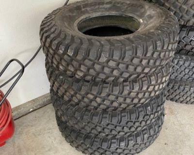 32x9.50R15 BFG KR2 Race Tires