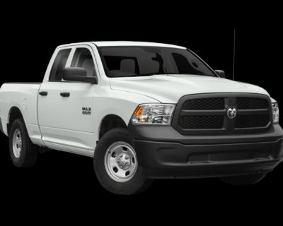 Pre-Owned 2018 Ram 1500 Tradesman 4WD 4D Extended Cab