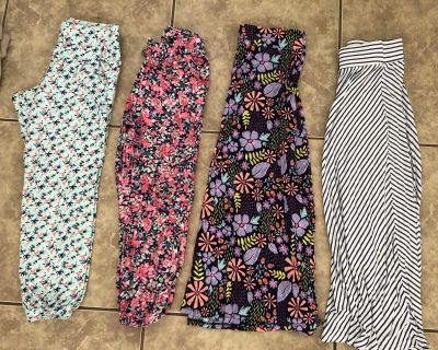 Skirts and pants size 7/8