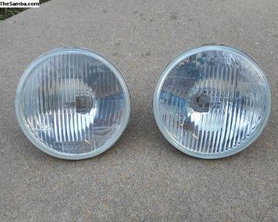 Vintage Bosch H-4 Headlights