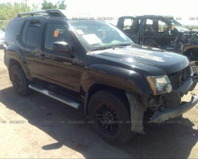 Salvage Black 2009 Nissan Xterra