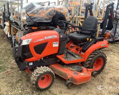 2018 (unverified) Kubota BX2380 4WD Utility Tractor