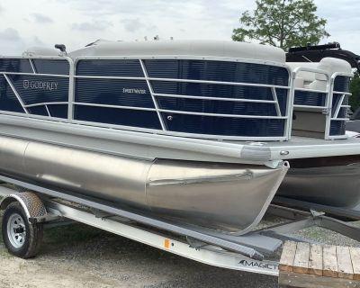 2022 Sweetwater 1680FX Pontoon Boats Lafayette, LA