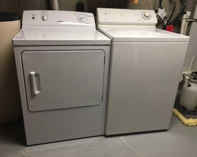 Maytag Washer and Hotpoint Dryer