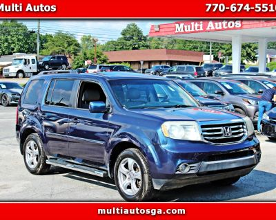 Used 2012 Honda Pilot EX-L 2WD 5-Spd AT with DVD
