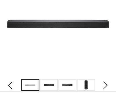 Bose soundbar with subwoofer