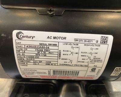 Century 1.5hp electric motor