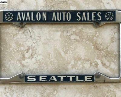 Avalon Auto Volkswagen Dealer Seattle WA Frame