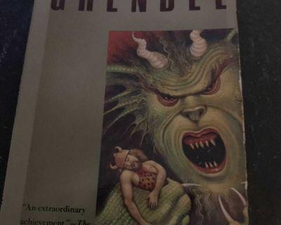 Grendel by John Gardner Book Like New Vintage Classic