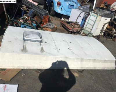 Riviera Pop-top camper roof