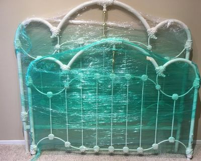 FREE Queen Bed Frame & rails, Not Used