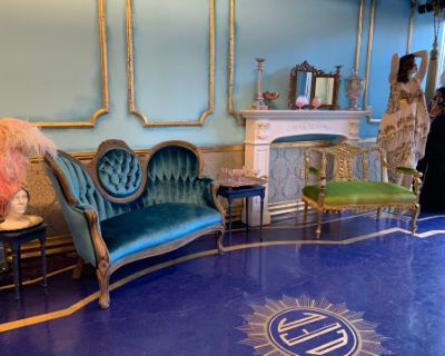 Exquisite Art Deco Vintage Clothing Boutique Boudoir style space., Los Angeles, CA