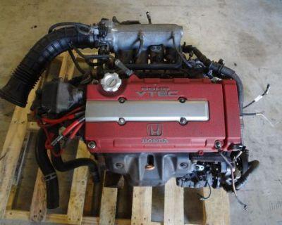 Jdm Honda Integra 1.8l 96-97 B18c Dohc Vtec Type R Engine Itr Civic Eg Ek B18c