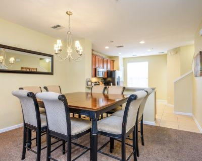 New Listing! Beautiful Vacation Townhome - 4007 - Orlando