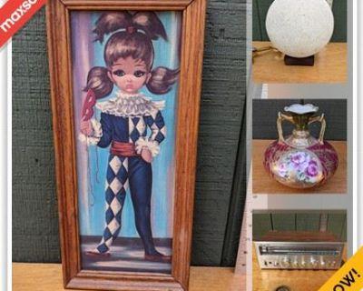 Melrose Downsizing Online Auction - Lynde Street