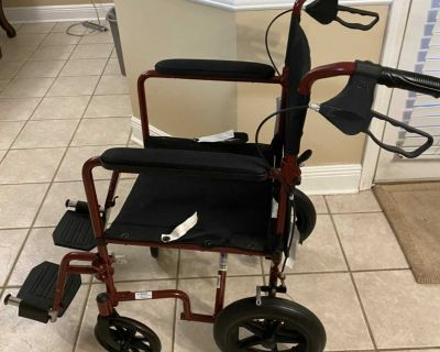 Wheel chair for travel