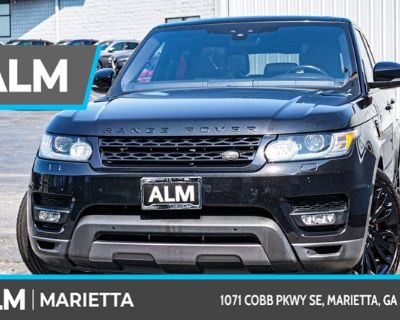 Pre-Owned 2017 Land Rover Range Rover Sport 5.0L V8 Supercharged Dynamic With Navigation & 4WD