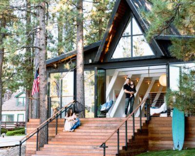 Modern A Frame - Featured in Sunset Magazine, Big Bear Lake, CA