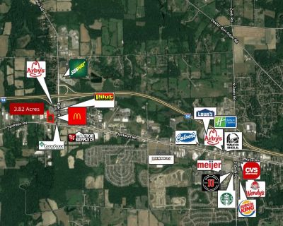 3.82 Acres Vacant Land for Sale in Ann Arbor