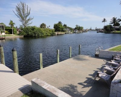 Gulf Access Home with Private Boat Dock in Quiet Neighborhood - Pelican