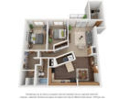 Monterey Apartments - Two Bedroom 2 Bath D With Den