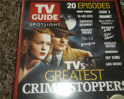MADE FOR TV CRIME SHOW'S DVD