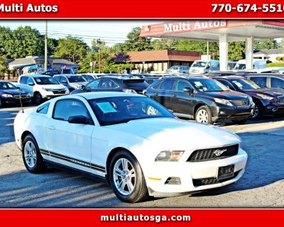 Used 2012 Ford Mustang V6 Coupe