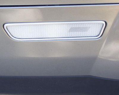 2005-2009 Ford Mustang Rear 1/4 Marker Light Trim Polished Or Brushed Aluminum
