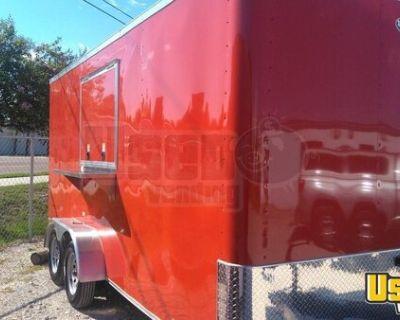 CUSTOM BRAND NEW Diamond Cargo 7' x 16'  Mobile Kitchen Food Concession Trailer