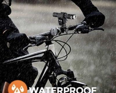 Bike headlight & rear light set