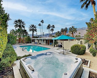 Mid-Century Allure Near Downtown | Backyard Haven with Pool, Hot Tub, Firepit - Sunrise Park