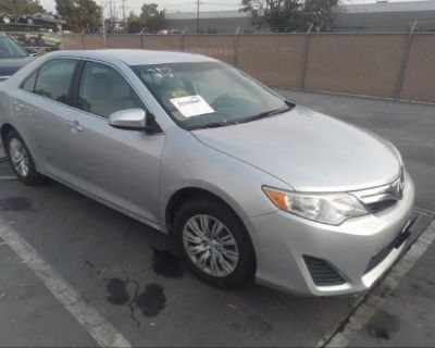 Salvage Silver 2013 Toyota Camry