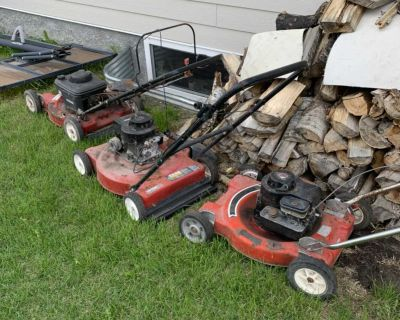 Lawn mowers for parts