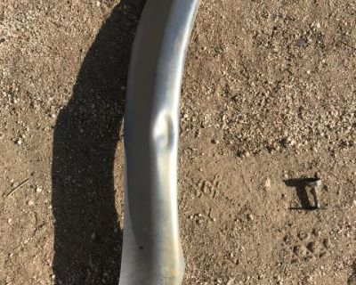 Rear 1/4 chrome trim