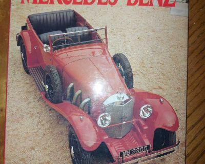 Classic Mercedes-Benz cars large illustrated book $4